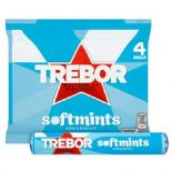 Trebor Softmints Spearmint Mints x 4 Pack 179g
